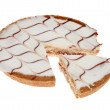Bakewell tart — Stock Photo