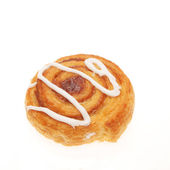 Coiled Danish pastry — Stock Photo