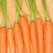 Close up carrots — Stock Photo
