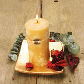 Feng Shui candle — Stock Photo