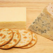 Cheese and biscuits - Stock Photo