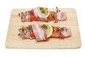 Salmon steaks — Stock Photo
