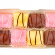 Stock Photo: Fondant fancies