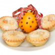 Mince pies and pomander — Stock Photo #36577769