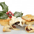 Mince pies and cream — Stock Photo #36577991