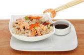 Asiatisk måltid — Stockfoto