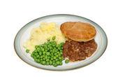 Meat pie — Stock Photo