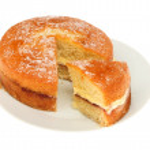 Victoria sponge cake — Stock Photo #48004917