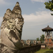Ancient sculpture in Bali — Foto Stock