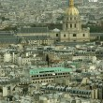 Paris aerial view — Stock Photo #13868152