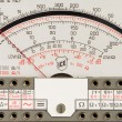 Stock Photo: Analog multimeter