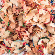 Foto de Stock  : Lot of pencil shavings on white