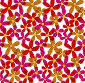 Seamless flower background. — Stock Vector