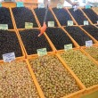Olives at Market in Izmir Turkey — Stock Photo #13879291