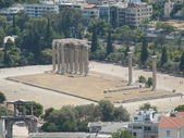 The Temple of Zeus, Athens Greece — Stock Photo