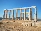 Tempel des poseidon, sideview — Stockfoto