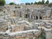 Old Greek City Ruins — Stock Photo