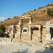 Ruins Ephesus Turkey - Stock Photo