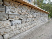 Collection of Carvings in Aphrodisia Turkey — Stock Photo