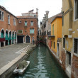 Quiet Canal and Marketplace — Stock Photo #15432295