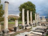 Giant Columns in Aphrodisia — Stock Photo