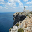 Lighthouse at Cap De Cavalleria, Menorca, Spain — Stock Photo #26701397