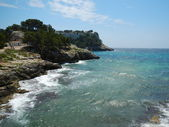 Shoreline in Menorce — Stock Photo