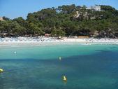 Green blue waters of Menorca — Stock Photo
