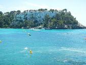 Sailing around Menorca — Stock Photo