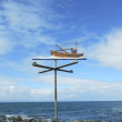 Stock Photo: Weathervane