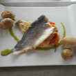 Fresh fish lunch in Tenerife — Stock Photo #30189871