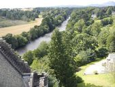 View from Doune Castle — Stock Photo