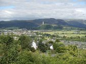William Wallace Monument — Stock Photo