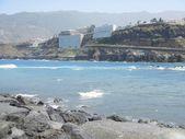 Shore of Tenerife near Puerta La Cruz — Stock Photo