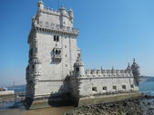 Belémská věž, lisabon — Stock fotografie