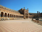 Plaza de Espana, Seville Spain — Stock Photo