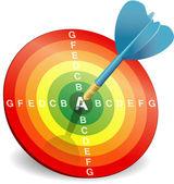 Concept d'efficacité énergétique — Vecteur