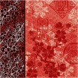 Traditional Oriental style wallpaper - Image vectorielle
