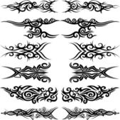 Maori tribal tattoo — Stockvektor