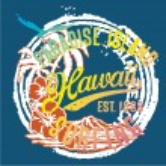 Hawaï îles paradisiaques — Vecteur