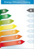 Label d'efficacité énergétique — Vecteur
