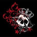 Gothic skull — Stock Vector #23801831