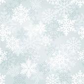 Fondo de pantalla de los copos de nieve — Vector de stock