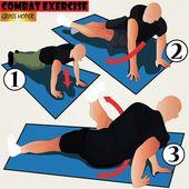 Combat exercise — Stock Vector