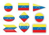 Venezuelan flag — Stock Vector