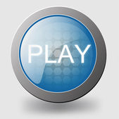 Play-knappen — Stockvektor