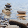 Rocks and water — Foto de Stock