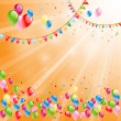 Background for birthday — Stock Vector #36660775