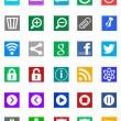 Windows 8 Icons - Metro Style — Stock Photo