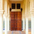 Stock Photo: Hallway of Morroco architecture